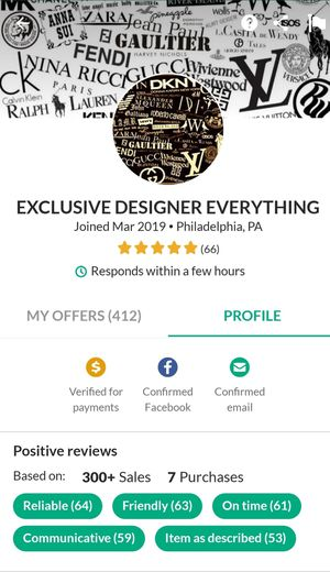 Designer Cloths (Follow My Latest Page) for Sale in Philadelphia, PA