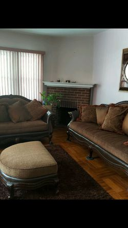 Sofa Loveseat Ottoman for Sale in Darby,  PA