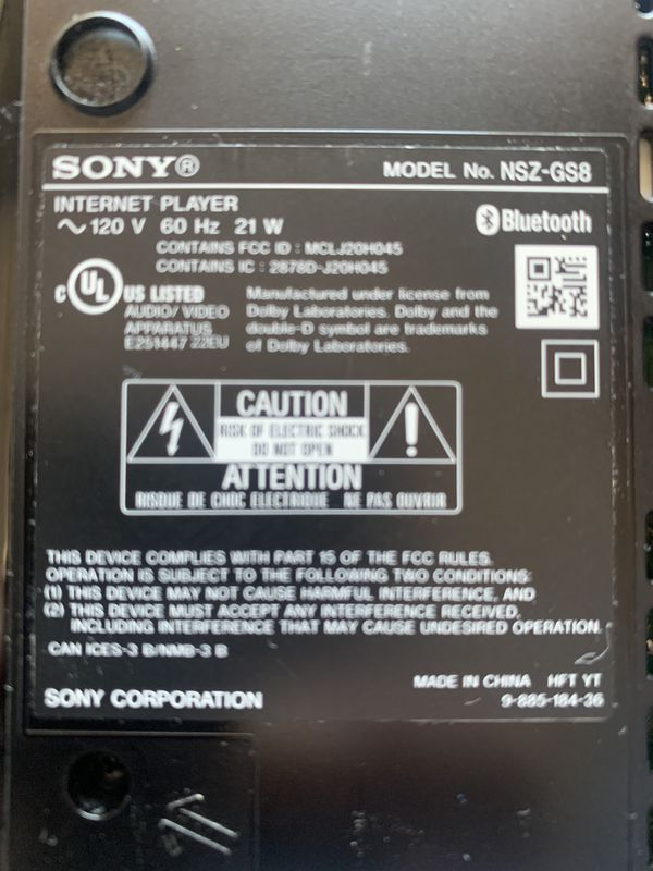 Sony Internet Player