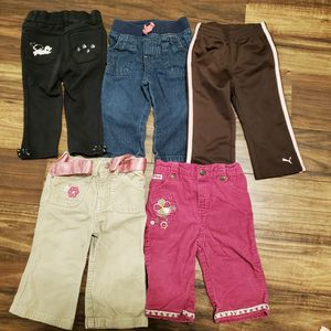 Girl 12m Pants Clothes Lot for Sale in Vancouver, WA