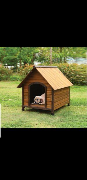 Brand new wooden doghouse! Nueva casita de madera para mascota!! for Sale in South Gate, CA