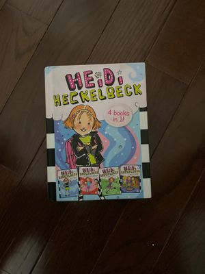 Heidi Heckelbeck 4 book in one hard cover for Sale in Bartlett, IL