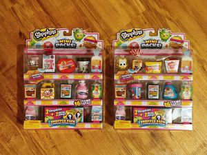 Shopkins Mini Packs (Price is for the set) for Sale in Smyrna, TN