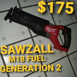 Milwaukee Sawzall Fuel M18 for Sale in Los Angeles,  CA