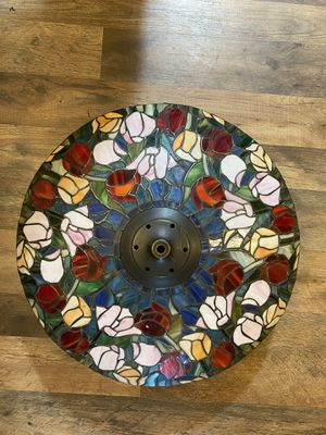 Vintage Tiffany Style Floral Print Pendant Lamp Dome Shaped for Sale in Seattle, WA