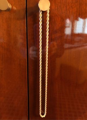 Tiffany & Co Silver Rope Chain Necklace for Sale in Bolingbrook, IL