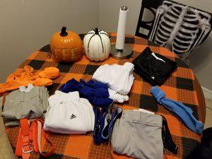 Baseball pants SM & M, belts, socks and gloves for Sale in La Porte, TX