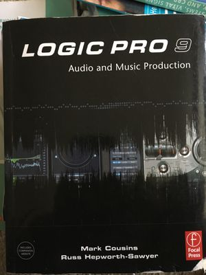 Logic Pro 9 Audio and Music Production for Sale in Detroit, MI