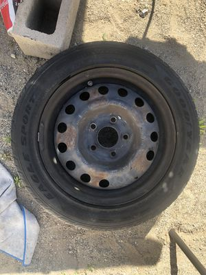 Used Tires and Rims Good Condition 195/55R15 $35 each for Sale in Rancho Cucamonga, CA
