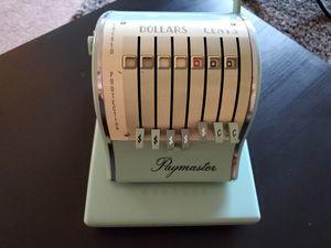 Vintage paymaster check machine for Sale in Phoenix, AZ