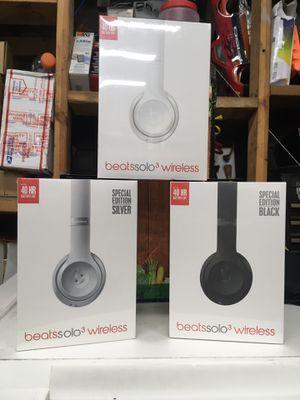 Beats solo 3 wireless for Sale in Newark, NJ