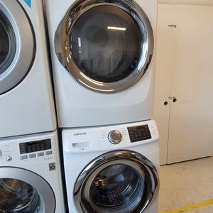 Samsung Front Load Washer And Electric Dryer Mix And Match Set Used In Good Condition With 90day's Warranty for Sale in Washington, DC