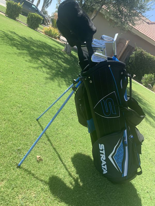 Callaway BRAND NEW strata bag. I'm including clubs in picture.