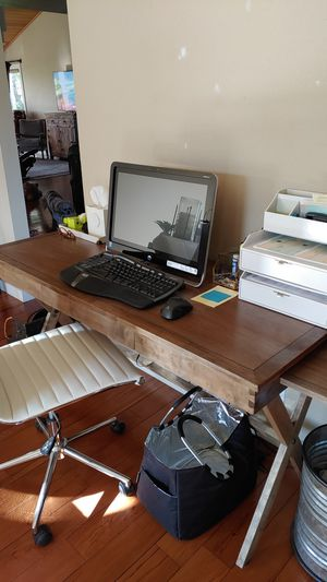 Wood desk for Sale in Bend, OR