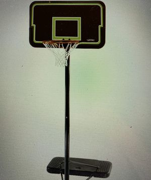"Lifetime 44"" Impact Portable Basketball Hoop Adjustable for Sale in Surprise, AZ"