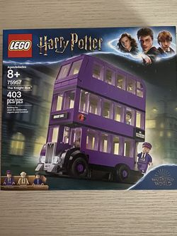 BRAND NEW LEGO 75957 HARRY POTTER THE KNIGHT BUS for Sale in Bartlett,  IL