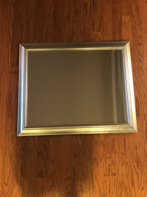 Brushed Nickel Wall Mirror for Sale in Nashville, TN