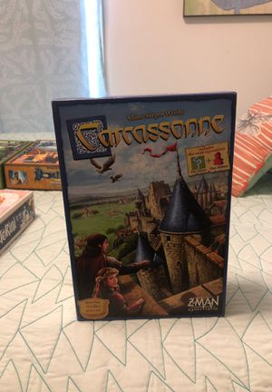 Carcassonne Board game with the River Expansion for Sale in Portland, OR