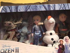 Disney Frozen 2 Plush Collector Set Bruni Salamander Elsa Kristoff Olaf Sven for Sale in Harrisburg, SD