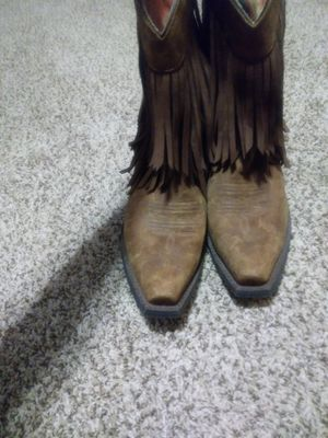Arait boots with fringes 9B for Sale in Nashville, TN
