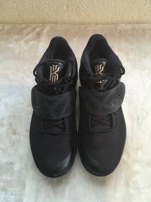 Nike Kyrie 2 Mens Size 10 Black/ Gold ID Limited Edition Basketball Shoes brand new for Sale in Sacramento, CA