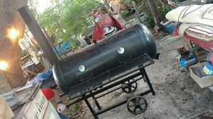 120gal BBQ smoker grill -CUSTOM- LP WOOD OR CHARCOAL 1200 OBO for Sale in Riverview, FL