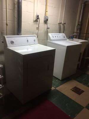 Gas washer and dryer in good condition for Sale in Aspen Hill, MD