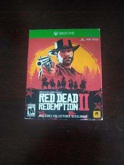 Red Dead Redemption 2  Steel Book Edition for Sale in Montclair, CA