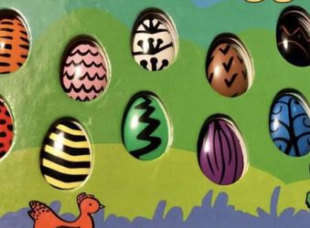 New Ten Little Eggs Children's Easter Hardcover Book By Jean Marzollo for Sale in Pinellas Park,  FL