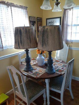 Big heavy vintage destress lamps for Sale in Burlington, NC