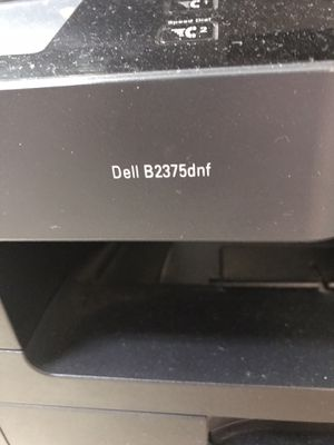 Dell B2375dnf printer with ink for Sale in Naples, FL