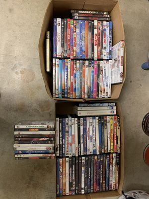 Lot of movies for Sale in Valley Home, CA
