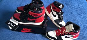 "Air Jordan 1 Retro High OG ""Banned 2016 Black toe 2016"" for Sale in Macomb, MI"