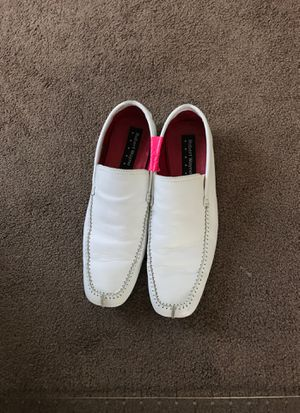 Men's white leather shoes for Sale in Palm Harbor, FL