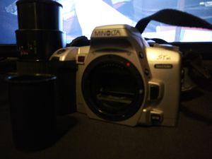 Minolta Camera, Bag, 2 lenses, and film for Sale in Lodi, CA