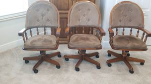 Office chairs...20.00 each for Sale in Port St. Lucie, FL
