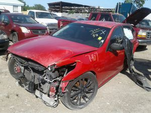 2008 INFINITI G35--- FOR PARTS ONLY // PARTES SOLAMENTE #7467 for Sale in Mesquite, TX