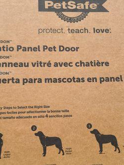 Patio Panel Pet Door for Sale in Cumming,  GA