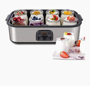 Yogurt Maker - MVPower Automatic Digital Yogurt Machine with 8 Glass Jars 48 Ozs for Sale in Las Vegas, NV