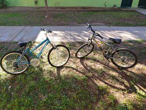 Roadmaster granite peaks bikes 120 for both for Sale in Glendale, AZ