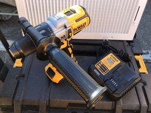 ⚠️DEWALT 20-Volt MAX XR with Tool Connect Premium Brushless Lithium Ion Hammer Drill/Driver with 2.0 battery and charger⚠️ for Sale in Fontana, CA