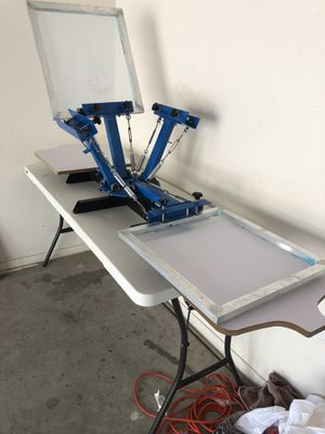 Screen Printing Press - 4 Color Station for Sale in Phoenix, AZ