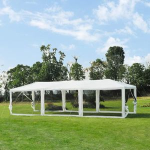 10' x 30' Outdoor Tent Gazebo Canopy Bug Net Air Flow System Party Dinner Backyard Events BBQ for Sale in Rosemead, CA