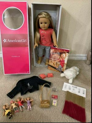 America Girl Doll Isabelle lot for Sale in WHT SETTLEMT, TX
