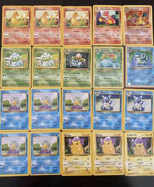 1999 Pokémon Base Set + More! MINT CONDITION! for Sale in Alta Loma, CA