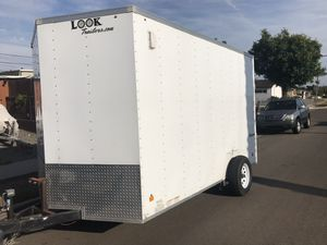 Look 2011 12x6 enclosed trailer for Sale in San Diego, CA