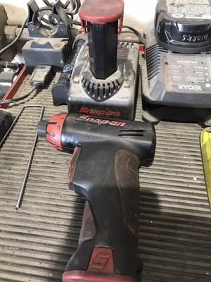 Snap on cordless screwdriver for Sale in San Jose, CA