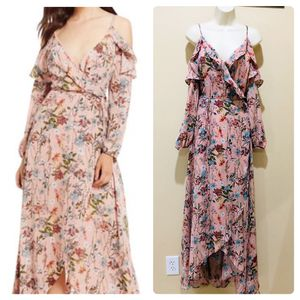 Gianni Bini Escapade cold shoulder ruffle dress! for Sale in Land O' Lakes, FL