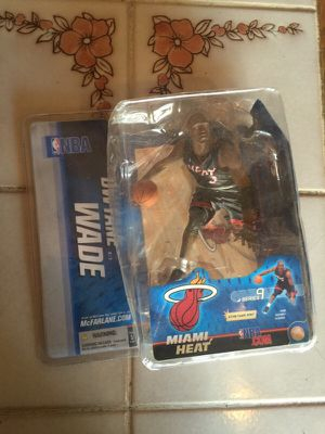 Dwayne wade action figure collectible for Sale in Millbrae, CA