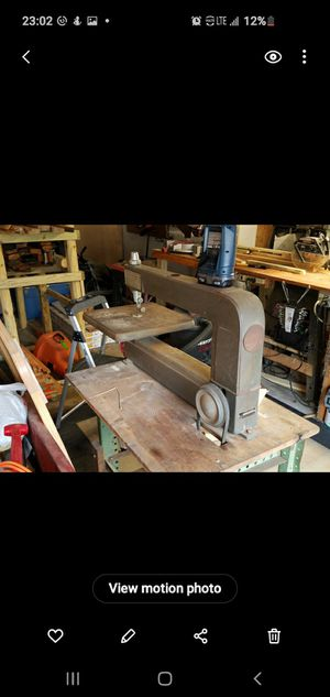 Craftsman,table jig saw for Sale in Jeannette, PA